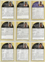 9 Hoops Basketball Player Cards c.1990-91 - 2
