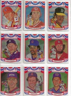 9 Donruss 1983 Baseball Player Cards