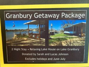 EVERYTHING IS BETTER ON VACATION - GRANBURY GETAWAY!