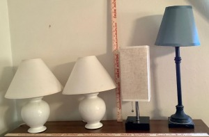 4 Decorative Table Lamps