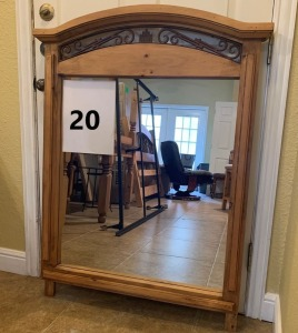 Mirror - Matches and Connects to Dresser