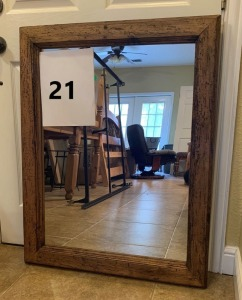 Mirror - Different Finish and Color than Dresser