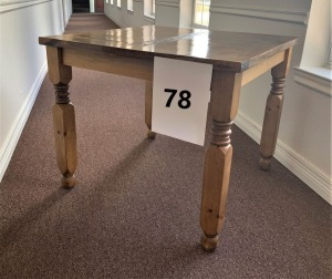 Square Dining Table - Finished on Top