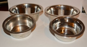 Stainless Pet Food Bowls