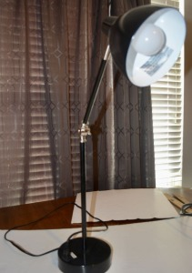 Desk Lamp with Power Outlet