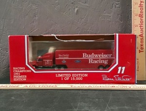 Racing Champions Limited Edition Budweiser Racing Model Truck