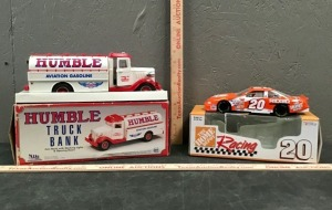 Model Truck and Race Car