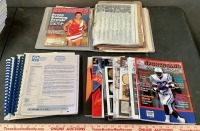 Sports Magazines, Scrapbook and Ephemera - 2