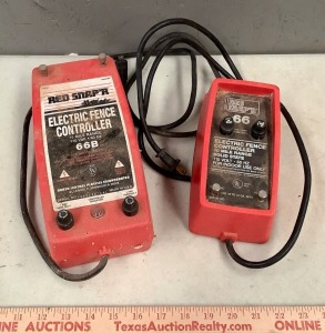 2 Electric Fence Controllers