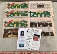 Sports Pages and Ephemera