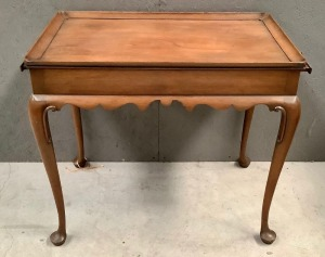Side Table with Pullouts
