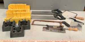 Mitre Saws and Garage Assortment