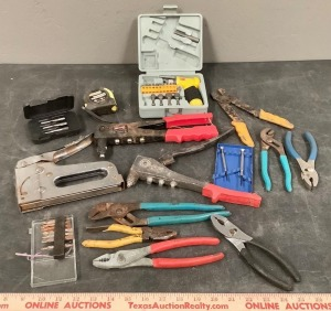 Garage Tool Assortment