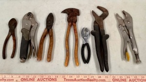 Pliers and Locking Pliers Assortment
