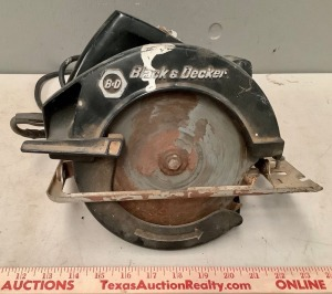 Black & Decker 7-1/4in Circular Saw