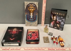 DVD and Toy Assortment