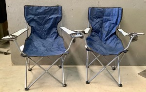 2 Folding Camp Chairs