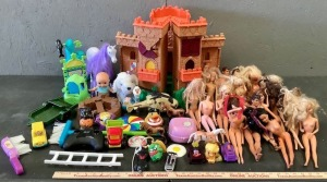 Barbie Dolls and Toys