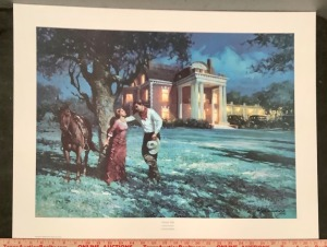 Signed Limited Edition Art Print - Thistle Hill - Robert Summers