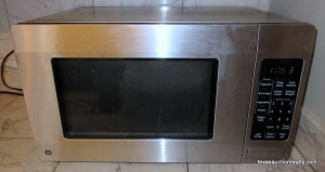 GE Microwave 1150 Watts- Stainless