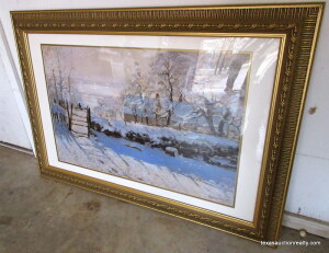 Framed & Matted Winter Print