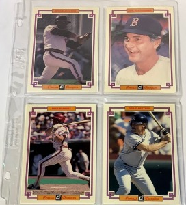 8 DonRuss Champion and Grand Champion Baseball Player Cards c.1984