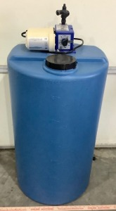 35 Gallon Fluid Tank with Electric Pump