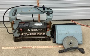 Delta 12in Portable Planer Project
