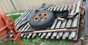 Spare Tire, Wood Fence Panels and More