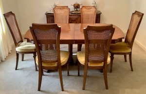Francesca by Drexel Dining Table with 6 Chairs