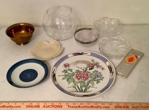 Decorative Plate and Bowl Assortment