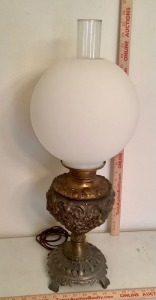 Decorative Brass Electric Table Lamp