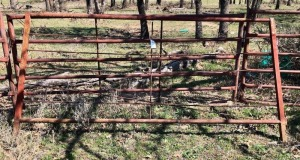 Homemade Steel Gate 10ft x 5ft