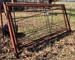 3 Homemade Steel Gates 10ft x 5ft