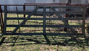 Galvanized 12ft Gate