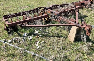 Vintage 8.5ft Disc Plow