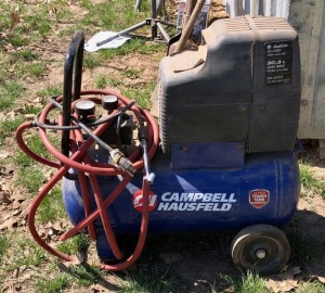 8gal Campbell Hausfeld Air Compressor