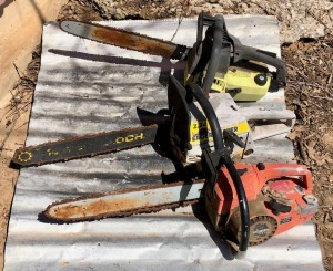 3 Chainsaw Projects