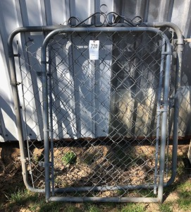 Chain Link Gates and Heavy Gauge Stay Wire