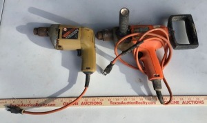 2 Electric Hand Drills