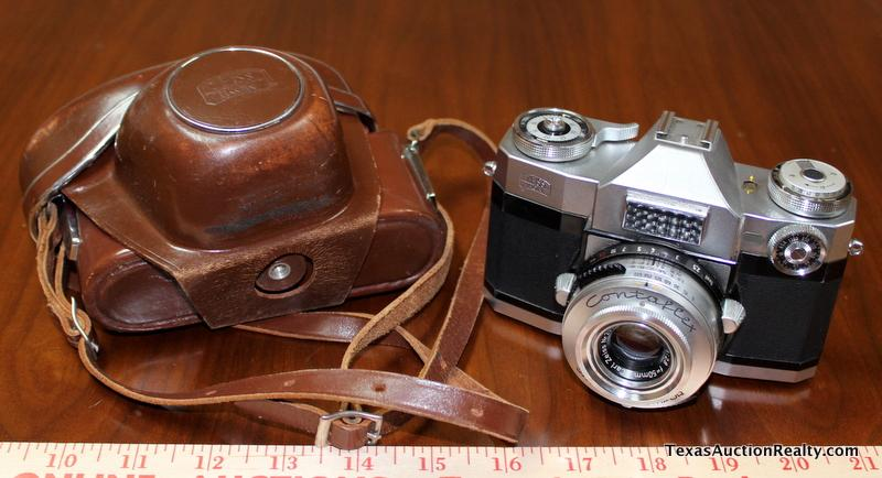 Vintage Zeiss Ikon Contaflex 35mm Camera Made By Carl Zeiss