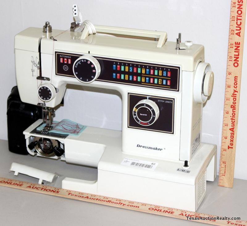 Nelco Dressmaker Model 40FA Sewing Machine Classy Dressmaker Special Sewing Machine