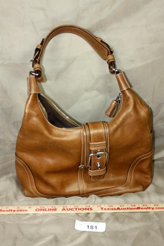 ... wholesale lot 181 of 363 authentic coach soho hobo brown leather bag  fde47 4e8a2 275ed77b7850b