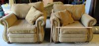 Pair of Upholstered Comfy Chairs