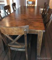 Nice Dining Table and 8 Chairs