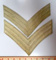 Pair of Sergeant Chevrons