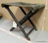 Military Folding Camp Stool
