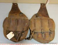 Pair of U.S. Army Cavalry Leather Saddle Bags