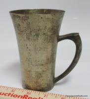 Silverplate Handled Cup