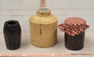 Small Pottery Jars